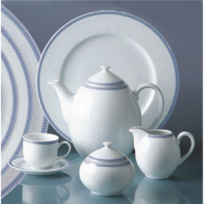 Modrý porcelán